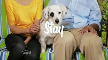 Lowe's Home Improvement TV Spot, 'Patio' - Thumbnail 6