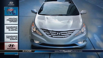 Hyundai Summer Clearance Top 5 Event TV Spot, 'Sonata & Elantra' - Thumbnail 2