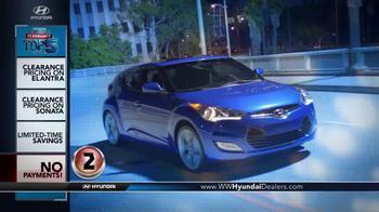 Hyundai Summer Clearance Top 5 Event TV Spot, 'Sonata & Elantra' - Thumbnail 5
