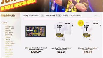 WWE Shop TV Spot, 'Out of Gear' Featuring John Cena - Thumbnail 7