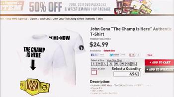 WWE Shop TV Spot, 'Out of Gear' Featuring John Cena - Thumbnail 8