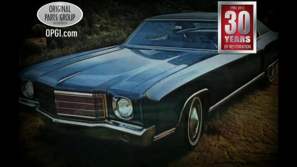 OPGI Original Parts Group Inc TV Commercial, 'Chevelle' - Video