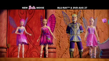 Barbie Mariposa & The Fairy Princess Blu-ray Combo Pack TV Spot - Thumbnail 3