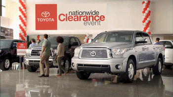 Toyota Nationwide Clearance Event TV Commercial, 'Hurry In ...