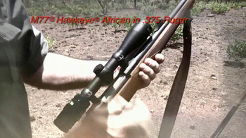 M77 Hawkeye African .375 Ruger TV Spot - Thumbnail 9