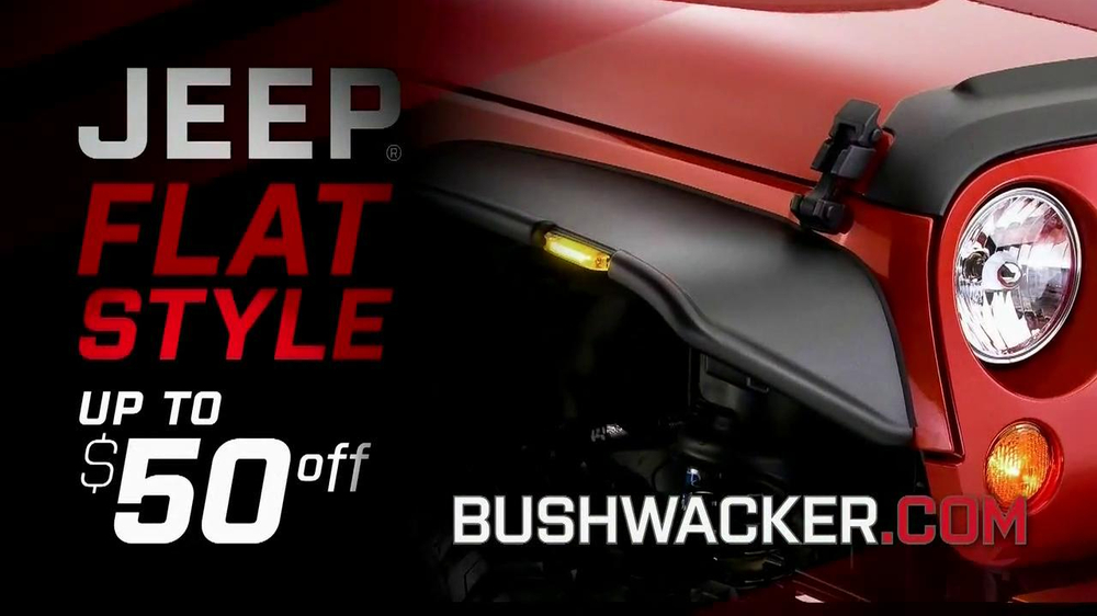 Bushwacker Flat-Style Fender Flairs TV Spot