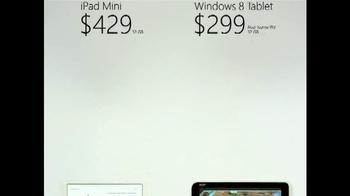 Microsoft Windows 8 Tablet TV Spot, 'Small World' - Thumbnail 9