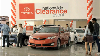Toyota Nationwide Clearance Event TV Spot, 'Camry Offer' - Thumbnail 7