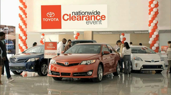 Toyota Nationwide Clearance Event TV Spot, 'Camry Offer' - Thumbnail 5