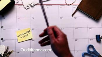 Credit Karma TV Spot, 'Calendar'