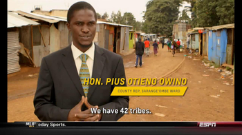 Chevrolet and One World Futbol Project TV Spot, 'Kibera, Nairobi, Kenya' - Thumbnail 4