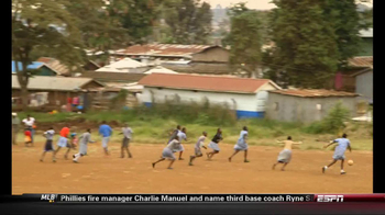 Chevrolet and One World Futbol Project TV Spot, 'Kibera, Nairobi, Kenya' - Thumbnail 5