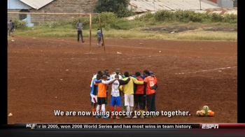 Chevrolet and One World Futbol Project TV Spot, 'Kibera, Nairobi, Kenya' - Thumbnail 9
