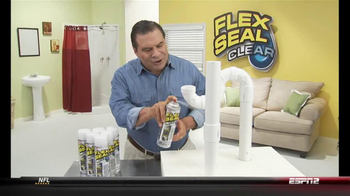 Flex Seal Clear TV Spot - 1883 commercial airings