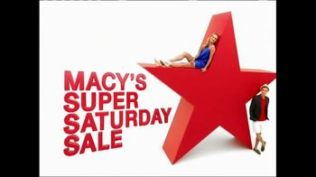 Macy's Super Saturday Sale TV Spot, 'Tees, Tops and Shorts'
