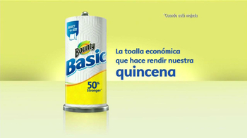 Bounty Basic TV Spot, 'Quincena' [Spanish] - Thumbnail 6