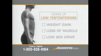 Androfen TV Spot, 'Low Testosterone' - Thumbnail 1