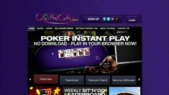 Cotriga.com TV Spot, 'Online Casino' - Thumbnail 1