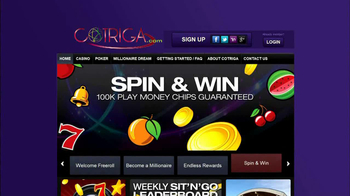 Cotriga.com TV Spot, 'Online Casino'