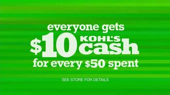 Kohl's Lowest Prices of the Season Sale  TV Spot - Thumbnail 8