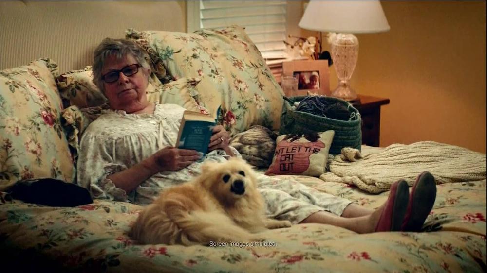 Yahoo! Fantasy Football TV Commercial, 'J. J. Watt Shuts Down Grandma'