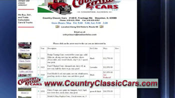 Country Classic Cars TV Spot - Thumbnail 7