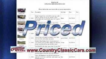Country Classic Cars TV Spot - Thumbnail 8