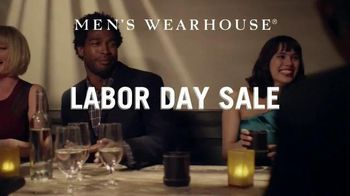 Men's Wearhouse Labor Day Sale TV Spot, 'Dinnertime'