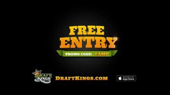 DraftKings Free Entry TV Spot, 'Kickoff' - Thumbnail 10