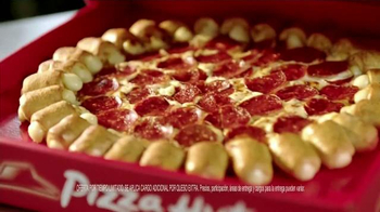 Pizza Hut Cheesy Bites Pizza TV Spot [Spanish] - Thumbnail 5