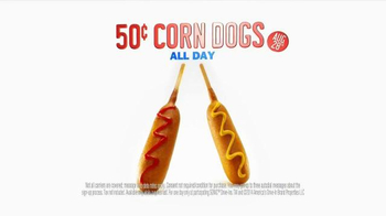 Sonic Drive-In Fifty Cent Corn Dog Day TV Spot - Thumbnail 9