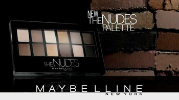 Maybelline New York The Nudes Palette TV Spot, 'Dare to Go Nude' - Thumbnail 8