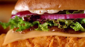Wendy's Smoked Gouda Chicken Sandwich TV Spot, 'Dinner, Dinner, Surprise' - Thumbnail 10