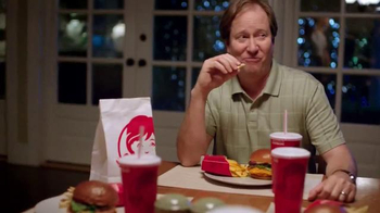 Wendy's Smoked Gouda Chicken Sandwich TV Spot, 'Dinner, Dinner, Surprise' - Thumbnail 5