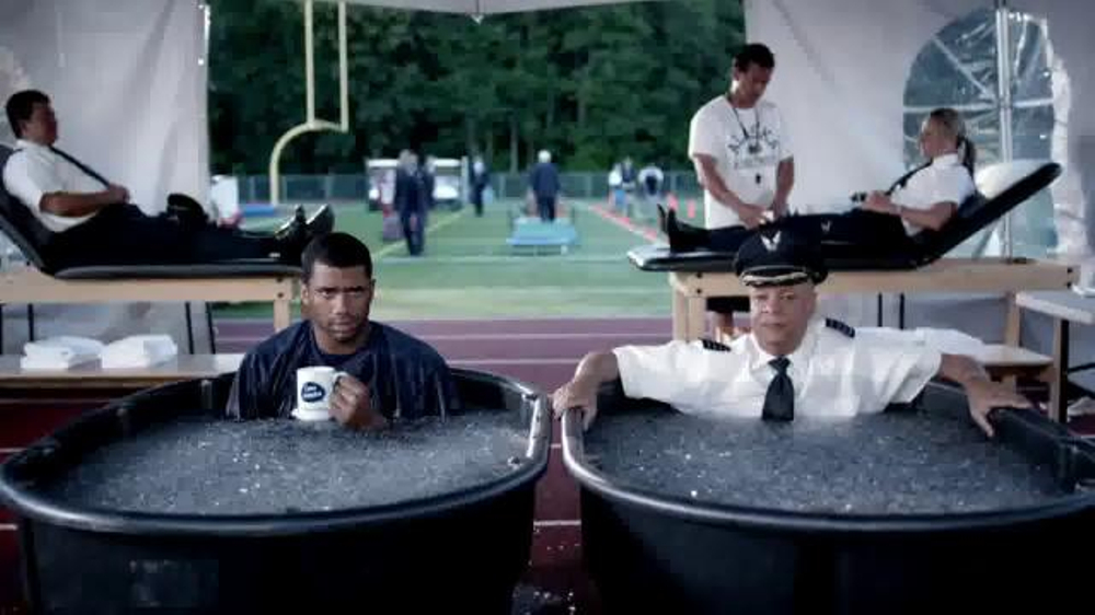 Alaska Airlines TV Commercial, 'Training Camp' Featuring Russell Wilson