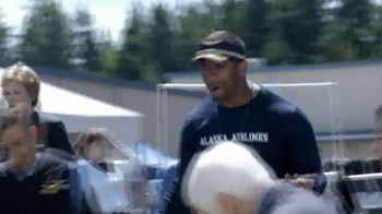 Alaska Airlines TV Spot, 'Training Camp' Featuring Russell Wilson - Thumbnail 10
