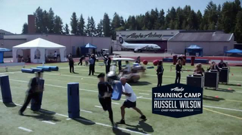 Alaska Airlines TV Spot, 'Training Camp' Featuring Russell Wilson - Thumbnail 2