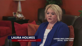 Liberty University TV Spot, 'Laura Holmes' - Thumbnail 1