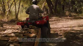 2015 Honda Foreman Rubicon & Rancher TV Spot, '4 By Fun' - Thumbnail 7