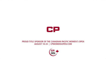 Canadian Pacific (CP) TV Spot, '2014 Canadian Pacific Women's Open' - Thumbnail 10