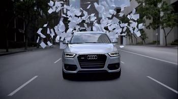 2015 Audi Q3 TV Spot, 'Rewrite' - Thumbnail 5