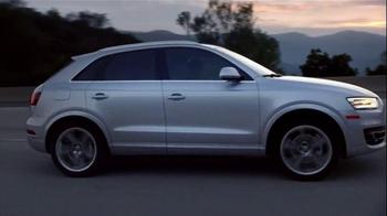 2015 Audi Q3 TV Spot, 'Rewrite' - Thumbnail 6