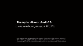 2015 Audi Q3 TV Spot, 'Rewrite' - Thumbnail 9
