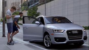 2015 Audi Q3 TV Spot, 'Scripted Life' - Thumbnail 8