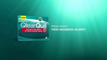 Vicks QlearQuil TV Spot, 'Alivio de Alergias' [Spanish] - Thumbnail 1