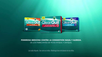 Vicks QlearQuil TV Spot, 'Alivio de Alergias' [Spanish] - Thumbnail 10