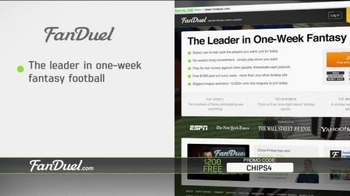FanDuel Fantasy Football One-Week League TV Spot, 'No Commitment' - Thumbnail 9