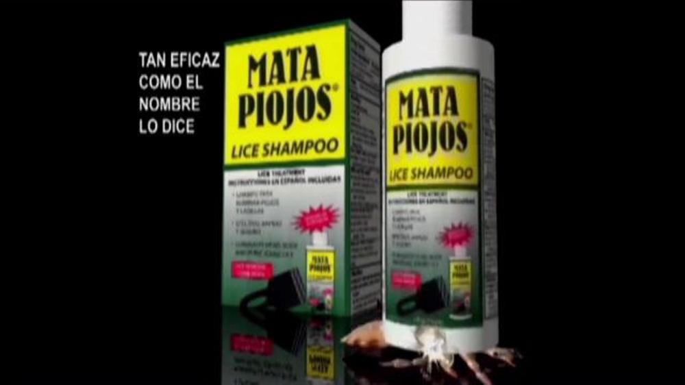 Mata Piojos Lice Lice Shampoo Commercial Televisivo Ispot Tv