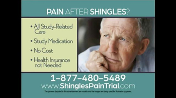 ShinglesPainTrial.com TV Spot - Thumbnail 9