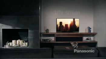Panasonic Life + Screen TV Spot, 'AS530 Series LED LCD TV Product' - Thumbnail 1
